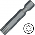 """KENNEDY TX8 Torx csavarhúzó bit 1/4"""" közvetlen meghajtóval, 38 mm, 5db/csomag"""