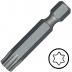 """KENNEDY TX25 Torx csavarhúzó bit 1/4"""" közvetlen meghajtóval, 38 mm, 5db/csomag"""
