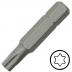 TX40 Torx csavarbehajtó bit 10 mm hatszög illesztéssel, 75 mm (5 db)