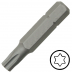 TX20 Torx csavarbehajtó bit 10 mm hatszög illesztéssel, 75 mm (5 db)