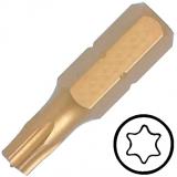 """KENNEDY TX10 Torx titán csavarhúzó bit 1/4"""" hatszög illesztéssel, 25 mm, 5db/csomag"""