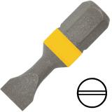 """KENNEDY 0.8 x 4.0 mm hornyos csavarhúzó bit 1/4"""" hatszög illesztéssel, 25 mm, 10db/csomag"""