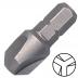 """KENNEDY No.2 Tri-Wing csavarbehajtó bit 1/4"""" hatszög illesztéssel, 25 mm, 5db/csomag"""