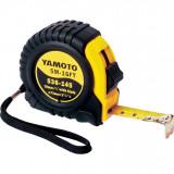 YAMOTO 3 m szalagzáras mérőszalag gumírozott házban