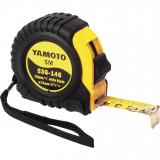 YAMOTO 5 m szalagzáras mérőszalag gumírozott házban