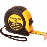YAMOTO 8 m szalagzáras mérőszalag gumírozott házban