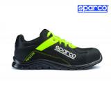 Sparco Practice fekete-fluosárga munkavédelmi cipő S1P