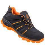 Urgent 261 s1 fekete-narancs védőcipő