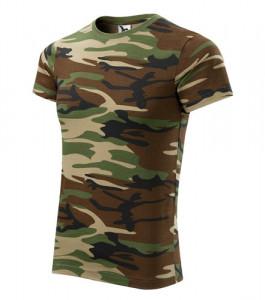Terepmintás póló -zöld-barna termék fő termékképe