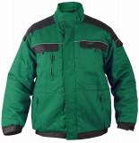 TOP020 Téli munkakabát, zöld