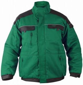 TOP020 Téli munkakabát, zöld termék fő termékképe