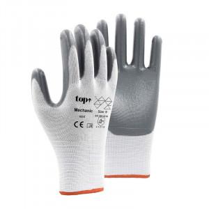TOP Mechanic nitril grey védőkesztyű termék fő termékképe