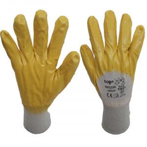 Top nitril mártott pamut védőkesztyű termék fő termékképe