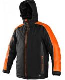 CXS Brighton bélelt kabát fekete/narancs