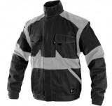 Luxy Eda kabát fekete-szürke