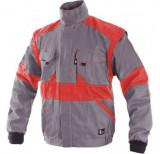 Luxy Eda kabát szürke-piros