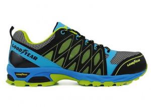 Goodyear S1 véd. cipő kék-zöld termék fő termékképe