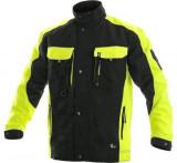 Sirius Brighton kabát fekete-citrom