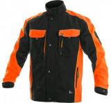 Sirius Brighton kabát fekete-narancs