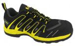 Top Agisz S1P cipő sárga-fekete