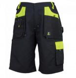 Urgent Urgent-Y fekete-neonsárga rövidnadrág