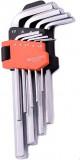Harden Imbuszkulcs készlet, 9 részes, 1,5-10 mm