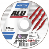 Norton Alumínium Vágókorong 125x1,6x22,23mm
