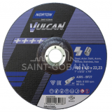 Norton Vulcan Fém Tisztítókorong 180x4,0x22,23mm