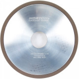 Norton Gyémánt Köszörűkorong Ø125x1x5 mm ASD126 R75 B99