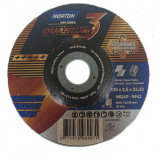 Norton Quantum3 Fém-Inox Vágókorong 125x0,8x22,23mm BF42, 25 db/csomag
