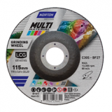 Norton LCG Tisztítókorong (multimaterial) 125x3,0x22,23mm, 10 db/csomag