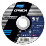 Norton Omega Vágókorong 115x1,0x22,23mm, 25 db/csomag