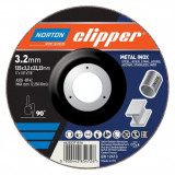 Norton Clipper fém-inox vágókorong 115x3,2x22,23mm, 25 db/csomag