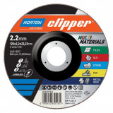 Norton Clipper Multimaterial Vágókorong 125x2,2x22,23mm