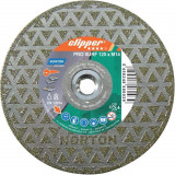 Norton Clipper Gyémánt Vágókorong Pro Marmo Surf (Ø 230x70/22,23+Flansch mm)