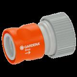 """Gardena Profi-System átmeneti elem vízmegállítóval, 19 mm (3/4"""") tömlőkhöz"""