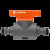 Original GARDENA System csatlakozóelem szabályozószeleppel