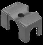 """Gardena Micro-Drip-System csőtartó szilárd felületre, 13 mm (1/2""""), 2db/csomag"""
