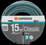 """Gardena Classic tömlő, 13 mm (1/2""""), 22 bar, 15m/tekercs"""