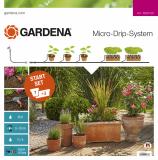 Gardena Micro-Drip-System indulókészlet cserepes növényekhez, M méret