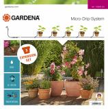 Gardena Micro-Drip-System bővítő készlet cserepes növényekhez, L méret