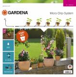 Gardena Micro-Drip-System indulókészlet cserepes növényekhez, S méret