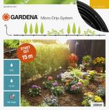 Gardena Micro-Drip-System indulókészlet növénysorokhoz, S méret