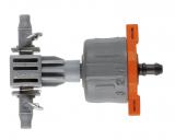 Gardena Micro-Drip-System szabályozható, nyomáskiegyenlítős sorcsepegtető, 1-8 liter/óra, 5db/csomag