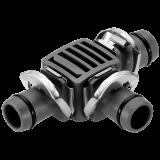 "Gardena Micro-Drip-System T-elem, 13 mm (1/2""), 2db/csomag"
