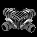 """Gardena Micro-Drip-System keresztelem, 13 mm (1/2""""), 2db/csomag"""