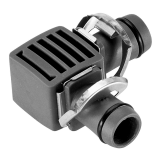 "Gardena Micro-Drip-System L-elem, 13 mm (1/2""), 2db/csomag"