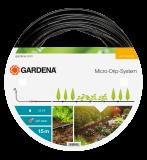 """Gardena Micro-Drip-System föld feletti csepegtetőcső, 4.6 mm (3/16""""), 15m/tekercs"""
