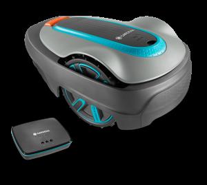 Gardena smart SILENO city 500 robotfűnyíró készlet termék fő termékképe