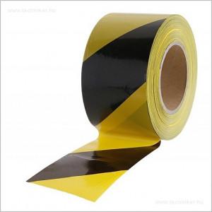 közúti jelzőszalag sárga-fekete 250m termék fő termékképe